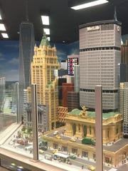 Miniland, a Lego replica of New York City. is one of