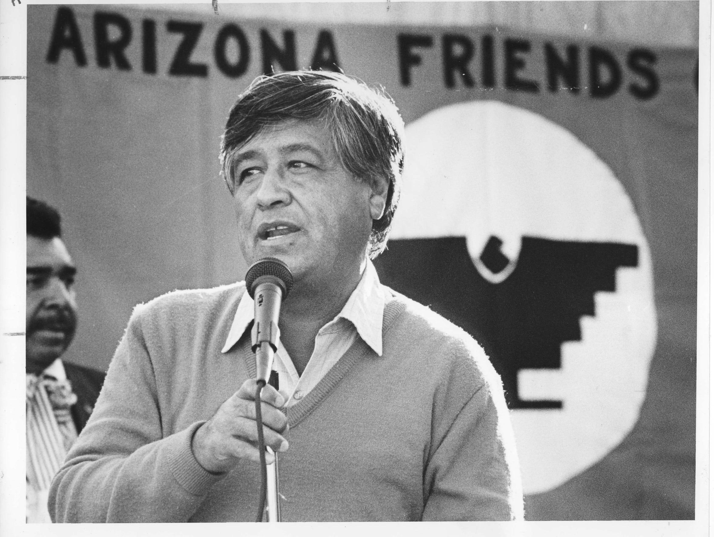 César Chávez es considerado un héroe en Arizona.