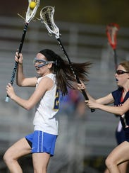 Kennard-Dale's Morgan Day in action during her PIAA record setting game.
