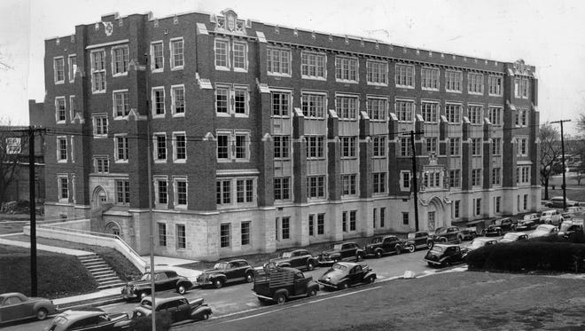 Dental equipment was being moved from the University of Tennessee's Rogers Hall at 718 Union into this new Clinical Dental Building for the College of Dentistry on Monroe at Dunlap on March 3, 1949. Modern to the minute, the new building was erected at a cost of $1,460,000, which includes new equipment.