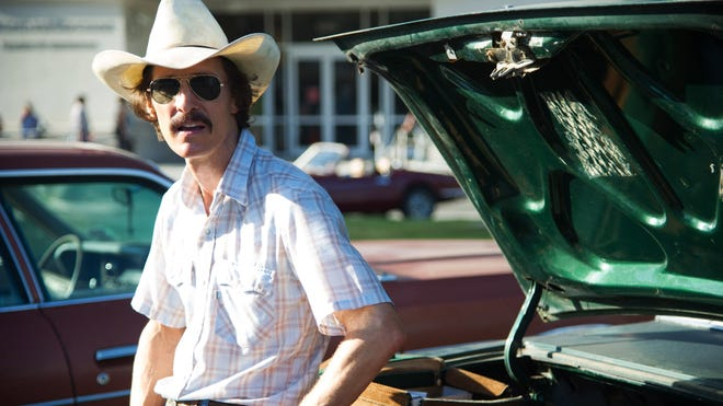 Matthew McConaughey stars as Ron Woodroof in the true-life tale 'Dallas Buyers Club.'