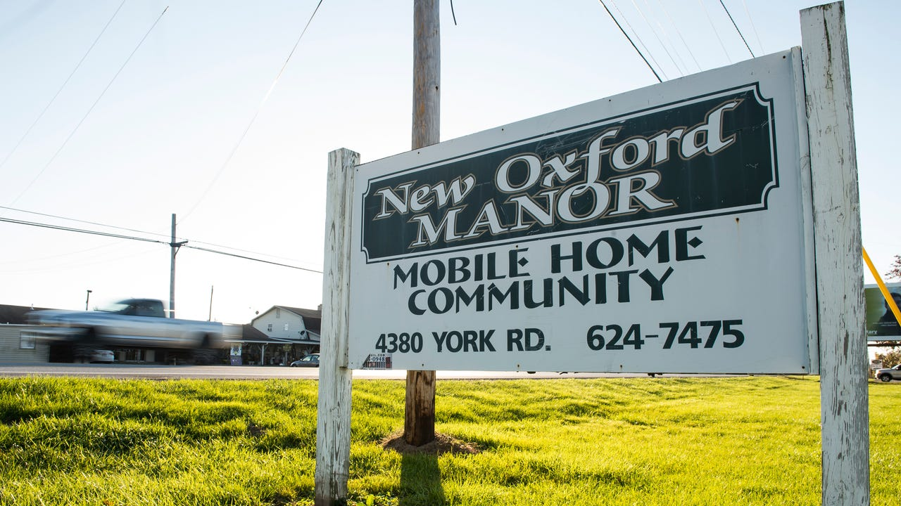 For years, residents at New Oxford Manor mobile home park have complained of water quality issues and rising rents and a lack of communication from park ownership.