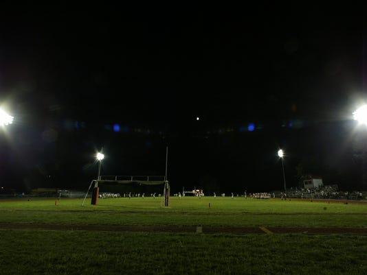 LIGHTS AT LAKELAND REGIONAL FOOTBALL FIELD