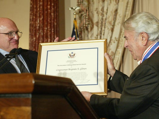Gilman honored by State Department
