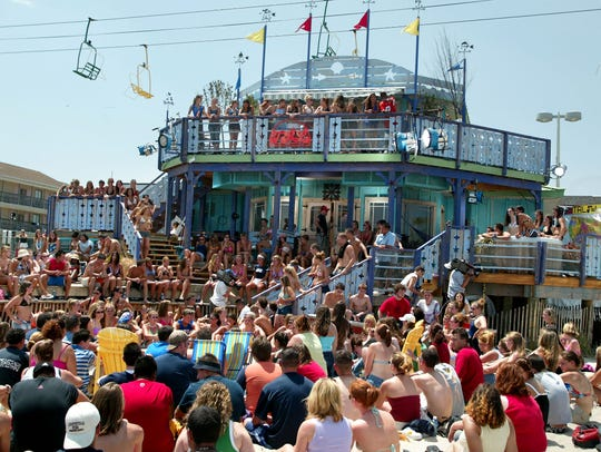 MTV All Access Week on TRL at the MTV Beach House in