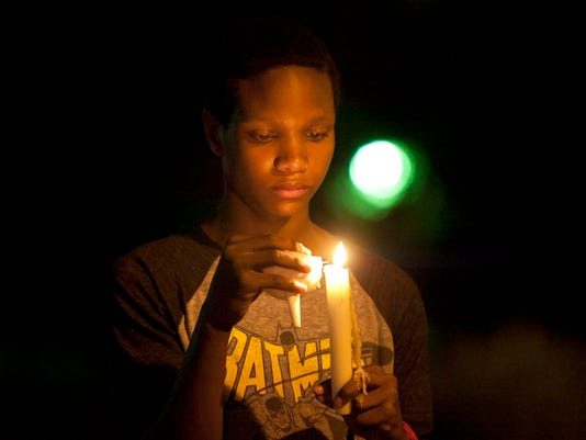Sheboygan candlelight vigil