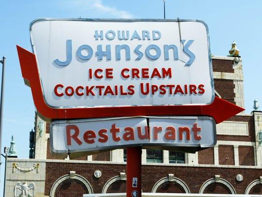 Howard Johnson's Restaurant, Ocean Avenue and the Boardwalk in Asbury Park.