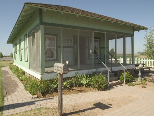 At Tumbleweed Ranch, families can tour historic buildings, such as the 100-year-old McCroskey House.