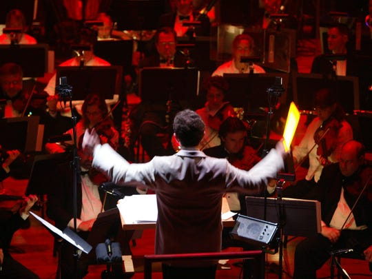 """For New Jersey Symphony Orchestra's """"Sci-Fi Spectacular,"""" guest maestro Bob Bernhardt will conduct with a lightsaber."""