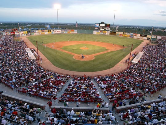 Over 11,000 fans attended a game at Cohen Stadium during its hey day.