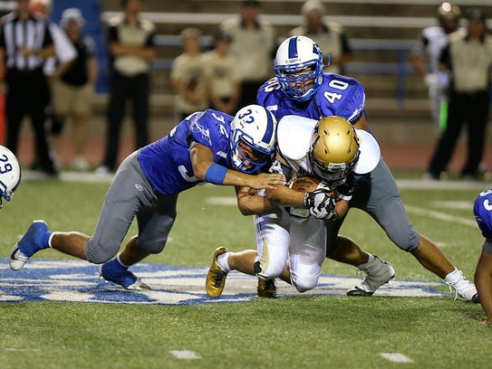 Lake View High School travels to Lubbock to face Lubbock Monterey in a District 4-5A football game 7:30 p.m. Friday, Oct. 27, 2017, at Lowery Field.