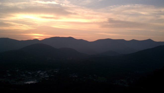 You can enjoy this spectacular view and see the Black Mountain fireworks with the Swannanoa Valley Museum on July 4.