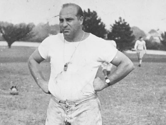 Long-time Asbury Park head coach William ``Butch'' Bruno, whose 1953 team finished the year ranked No. 1 in New Jersey.
