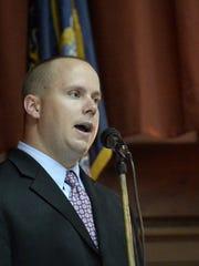 Casey Long, chairman of the Lebanon County Republican