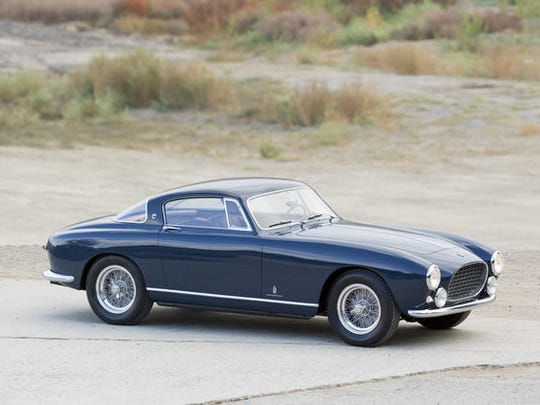 Only two 1955 Ferrari 250 Europa GT Alloys were produced.