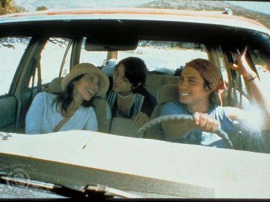 "Gael Garcia Bernal and Daniel Gimenez play teenagers on a road trip with an older woman (Maribel Verdu) in ""Y Tu Mama Tambien."""