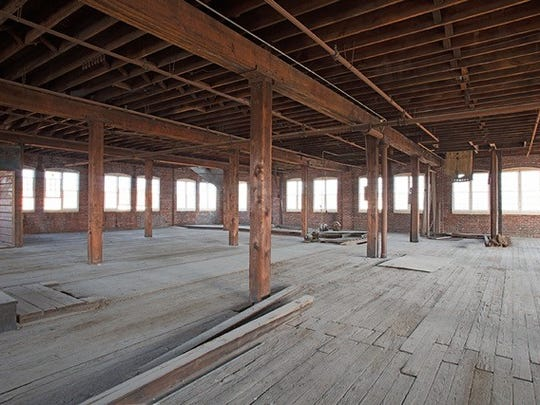 Interior of the historic building at 1101 E. 16th St. acquired by TSV Properties where Hotel Tango Whiskey is expanding.