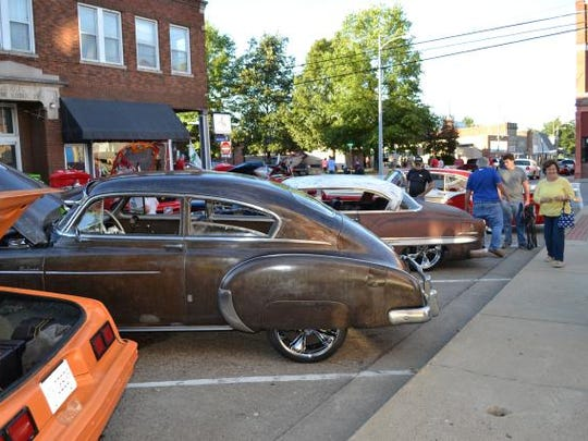 Another view of the Cruise-In
