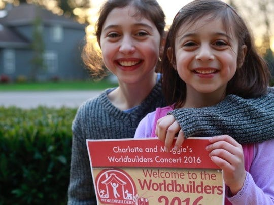 Sisters Charlotte and Margaret Tristan organized a YouTube concert to support the annual Worldbuilders fundraiser.