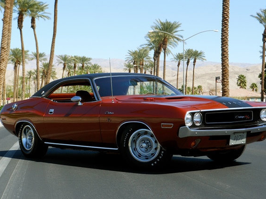 This 1970 Dodge Challenger R/T is scheduled for auction at Barrett-Jackson Scottsdale on Thursday, Jan. 19, 2017.
