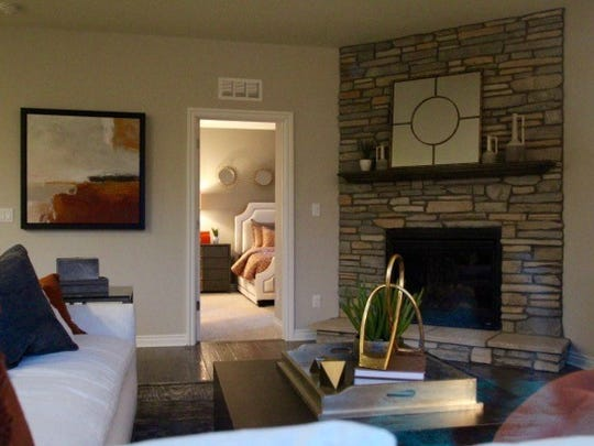 An interior shot of the new Pulte Homes model at The Enclave by resident Ken Kilpatrick.
