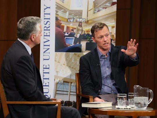 Speaking with Marquette University Law School fellow