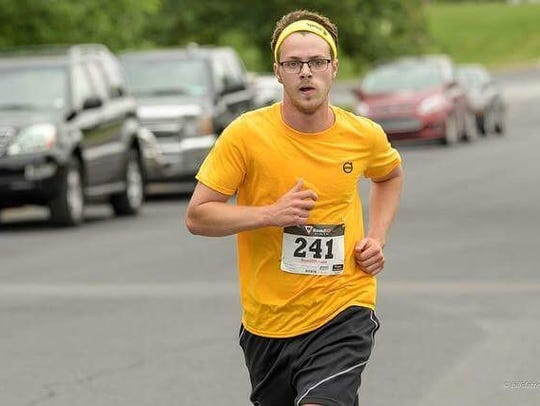 Shippensburg's Bailey Renfrew, 17, competes in the