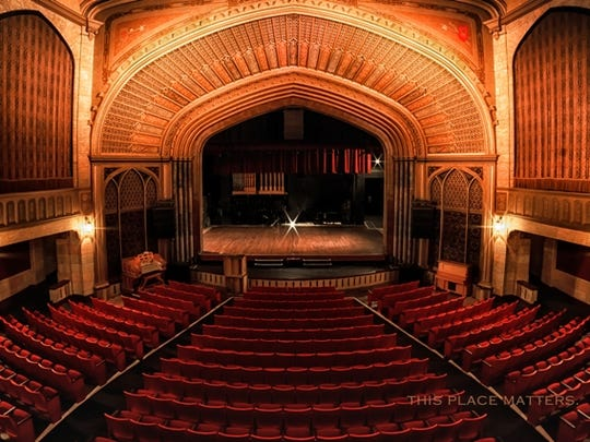 The Elsinore Theater by Donna Rohr