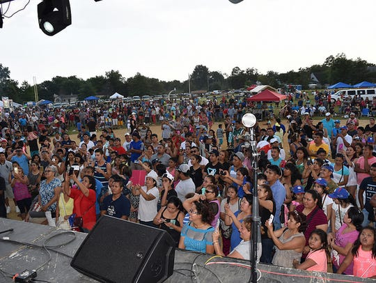 The Tu Sello Latin Fest at Monmouth Park in Oceanport.