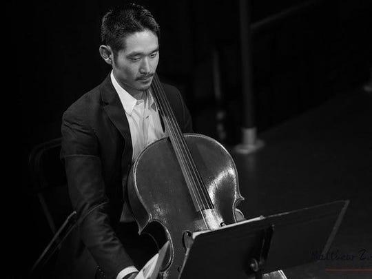 Cellist Hiro Matsuo