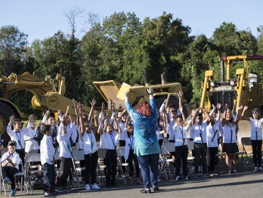 North Brunswick broke ground Sept. 8 at the site of