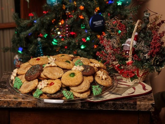 Cookies at Jay's are sold individually or by the platter.