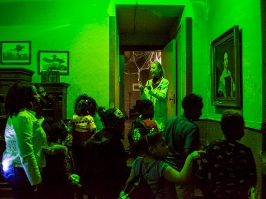 Central Library was transformed into a haunted house to celebrate Halloween during one Library Loud Day.