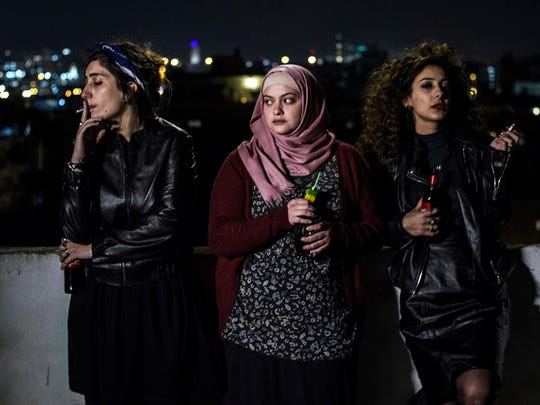"""Three Palestinian women share a Tel Aviv apartment in """"In Between."""""""