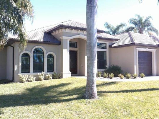 This home at 5239 Skylark Court, Cape Coral, recently