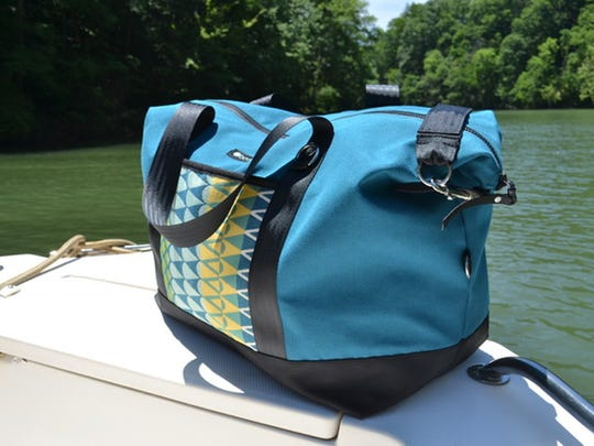 BoatGirl is one of the newest members of the Outdoor Gear Builders of WNC. The bags are made by women for women who spend time on the water.