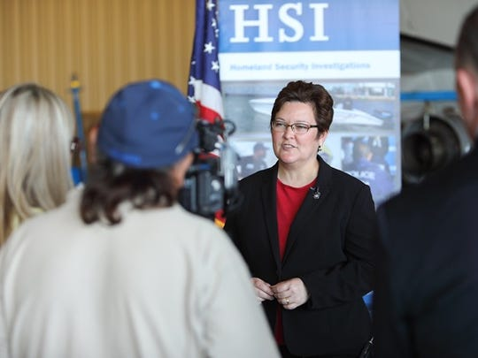 Special Agent in Charge Katrina Berger, Homeland Security