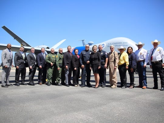 Partner law enforcement officials with the West Texas