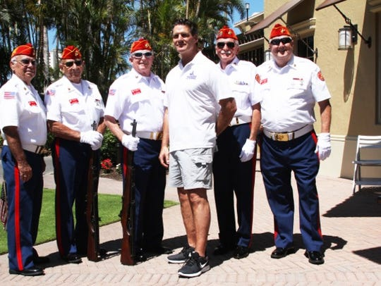 The fifth annual Wounded Veterans Relief Fund golf
