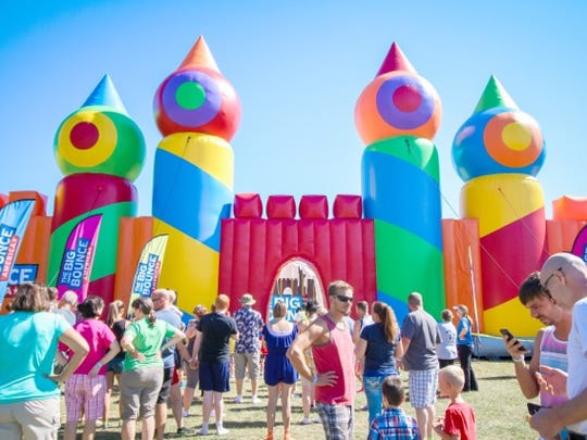 The Big Bounce American bounce house for all ages comes