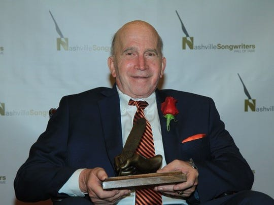 Paul Craft at the 2014 Nashville Songwriters Hall of Fame inductions.