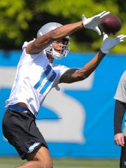 Marvin Jones during OTAs in May.