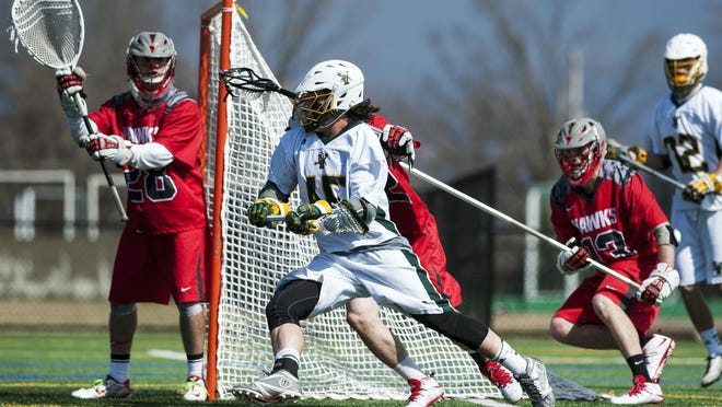 Ian MacKay and the No. 12-ranked University of Vermont men's lacrosse team puts its undefeated record (7-0) on the line at No. 1 Albany on Saturday.