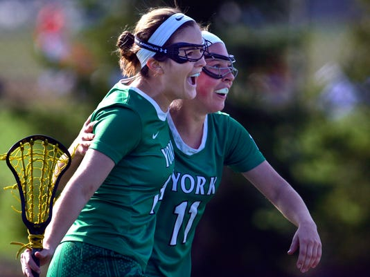 PHOTOS: York College vs. Gettysburg College women's lacrosse