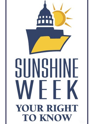 March 12-18 is Sunshine Week, a time to recognize the importance of an open government and a free press.