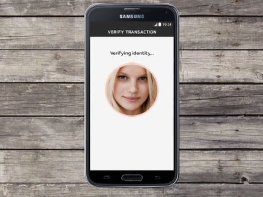 MasterCard's selfie pay verifies your identity with