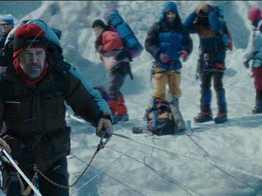 """""""Everest"""" is based on Jon Krakauer's """"Into Thin Air: A Personal Account of the Mt. Everest Disaster."""""""