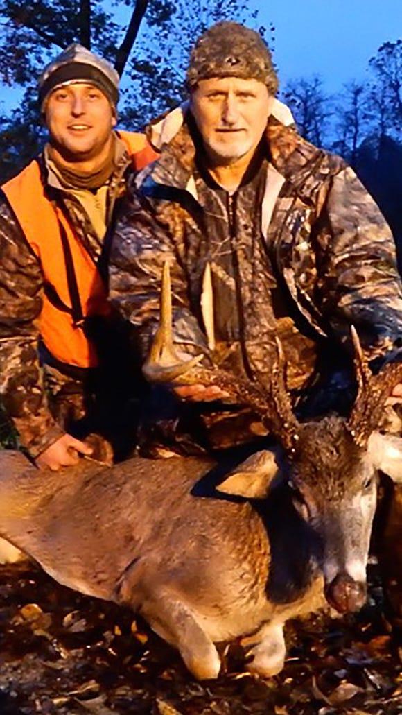 Dustin Turner (left) Joe Turner are both from Lake Cormorant, Miss.