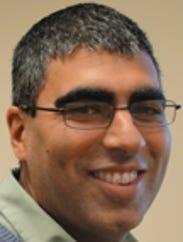 Sujay Kaushal, an associate professor of geology at