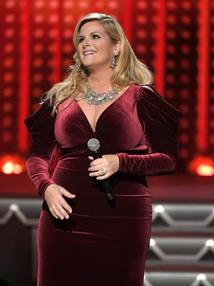 Trisha Yearwood performs at the CMA Country Christmas show on Tuesday, Nov. 14, 2017, at the Grand Ole Opry. The singer recently appeared on NBC's The Today Show with correspondent Jenna Hager Bush as they shopped in downtown Franklin.